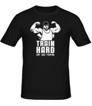 Футболка Train hard or go home