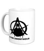 Кружка A for anonimous