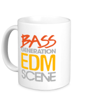 Кружка Bass generation EDM scene