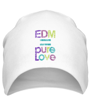 Шапка EDM pure love