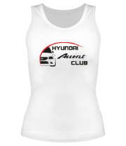 Майка Hyundai Accent Club logo