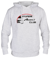 Толстовка Hyundai Accent Club logo