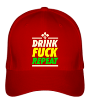 Кепка Drink - Fuck - Repeat