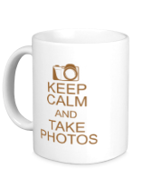 Кружка Keep Calm and take photos