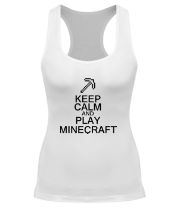 Борцовка Keep calm and play Minecraft