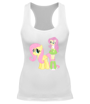 Борцовка Fluttershy and Fluttershy
