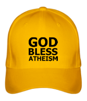 Кепка God bless atheism
