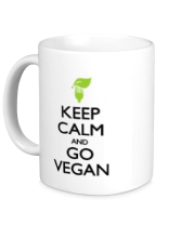 Кружка Keep Calm and go Vegan