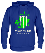Толстовка Monster Energy Abstraction Glow