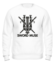 Толстовка без капюшона Sword Muse + logo LA