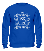 Толстовка без капюшона Whiskey Girl