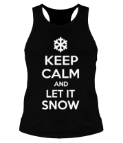 Борцовка Keep calm and let it snow