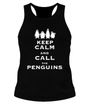 Борцовка Keep calm and call the penguins of madagascar