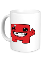 Кружка Super Meat Boy