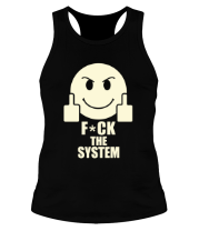 Борцовка Fuck the system (свет)