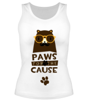 Майка Paws for the Cause