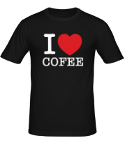 Футболка I love coffee