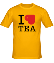 Футболка I love tea (with cup)