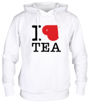 Толстовка I love tea (with cup)