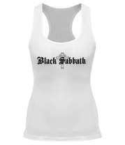 Борцовка Black Sabbath text with logo