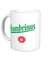 Кружка Gambrinus Beer