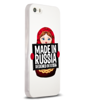 Чехол для iPhone 5/5s Made in Russia