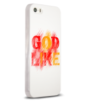 Чехол для iPhone 5/5s God like distortion