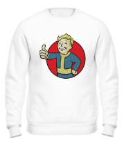 Толстовка без капюшона Vault Boy Color
