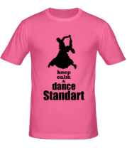 Футболка Keep_calm dance standart