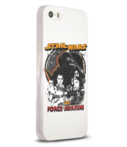 Чехол для iPhone 5/5s Force Awakens Squared