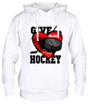 Толстовка Give hockey