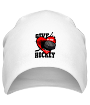 Шапка Give hockey