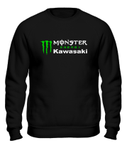 Толстовка без капюшона Monster Energy Kawasaki