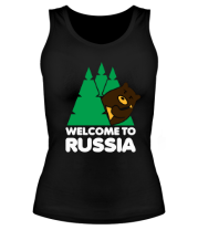Майка Welcome to Russia
