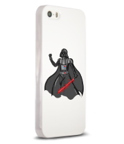 Чехол для iPhone 5/5s Darth Vader red laser pedang