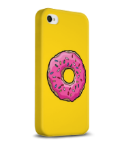 Чехол для iPhone 4/4s Simpsons Donut