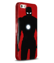 Чехол для iPhone 5/5s Iron Man