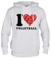 Толстовка I Love Volleyball
