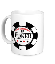 Кружка World Championship of Poker