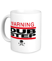 Кружка WARNING. Dubstep