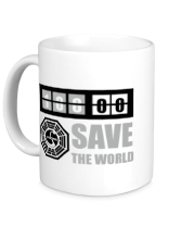 Кружка Save the world